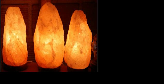 Lamparas de sal del himalaya casa