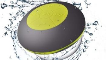 Altavoces bluetooth para ducha